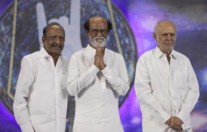 Rajinikanth Fans Meet Stills