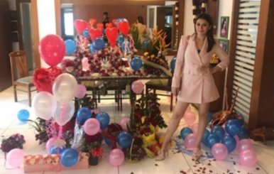 Actress Hansika Birthday Celebration Stills