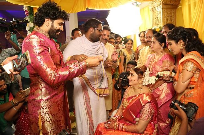 Namitha And Veera Marriage Stills