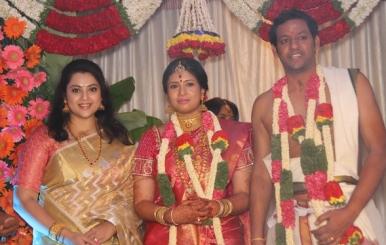 Actress Sangavi Wedding Photos Stills