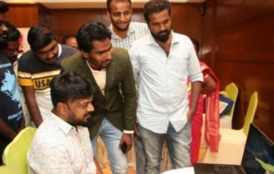 Kadhalin Dheepam Ondru Short Film Launch Stills