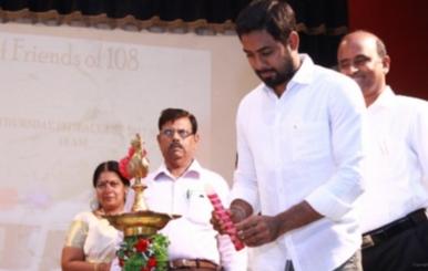 Actor Aari in Friends of 108 Launch Stills