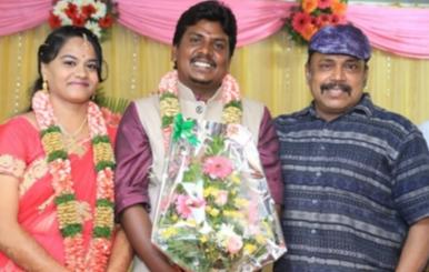 PRO Bhuvan Wedding Reception Stills