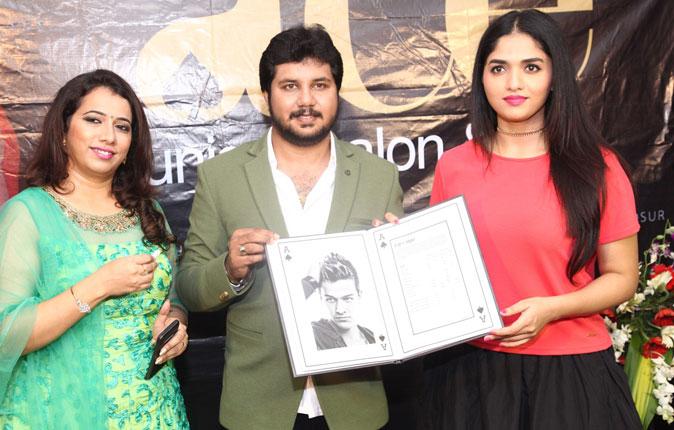 Actress Sunaina in ace Salon & Spa Inauguration Stills