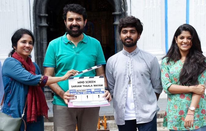 Sarvam Thaala Mayam Movie Launch Stills