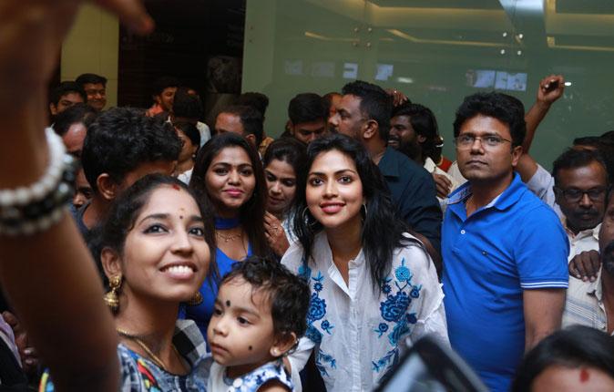 Amala Paul in Thiruttuppayale 2 Hit Celebration Stills
