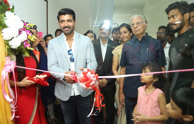 Arun Vijay in Nungambakkam Sony Center Inauguration Stills