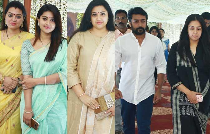 Celebrities at Actress Sridevi Prayer Meeting Stills