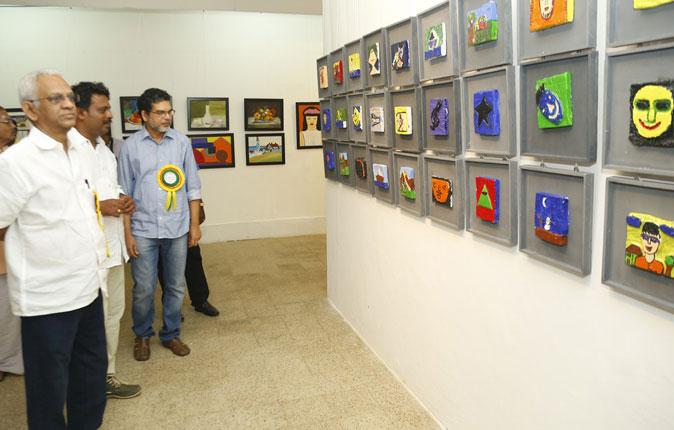 Velammal International School Students Art Exibition Stills