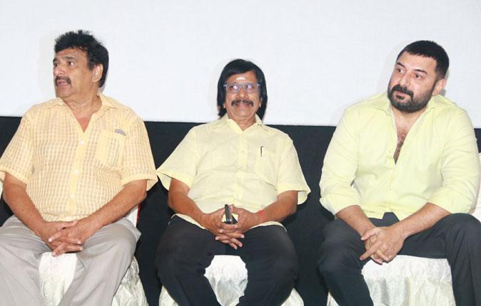 Baskar Oru Rascal Press Meet Stills