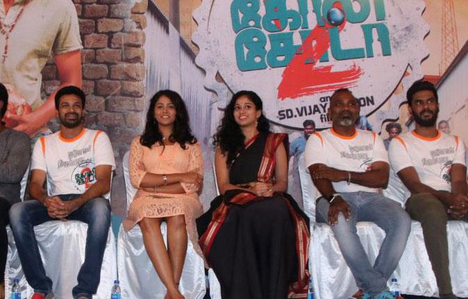 Goli Soda 2 Press Meet Stills