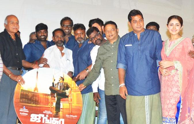 Junga Movie Audio Launch Stills