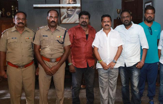 Vetiyan Movie Pooja Stills