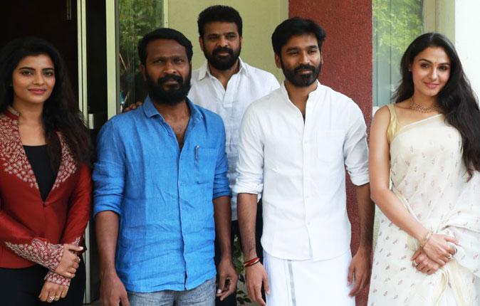 Vada Chennai Movie Press Meet Stills