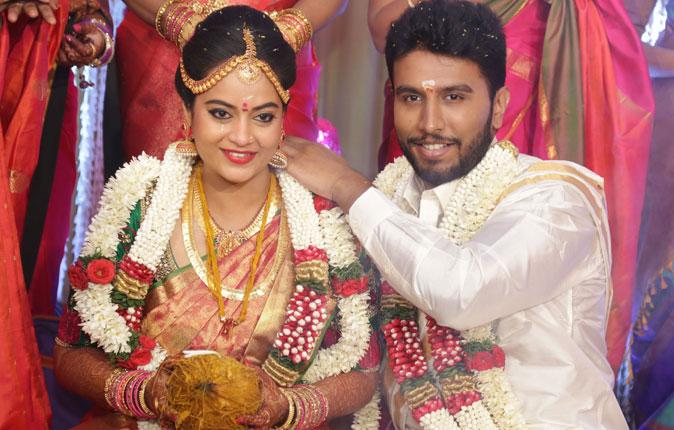 Actress Suja Varunee weds Actor Sivakumar Marriage Stills