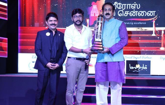 Heros of Chennai 2018 Award Event Stills