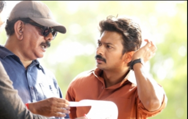 Priyadarshan and Udhayanidhi untitled movie on location stills