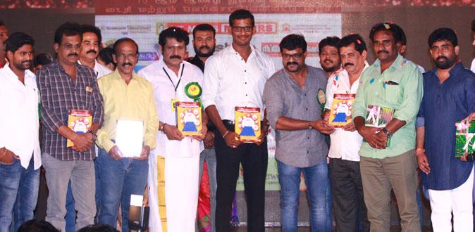 சின்னத்திரை நடிகர்கள் சங்கத்தின் 15 ம் ஆண்டு விழா - நடிகர் விஷால் பங்கேற்பு
