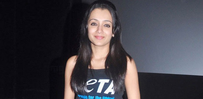Trisha's Paramapadham Vilaiyattu on full swing shoot