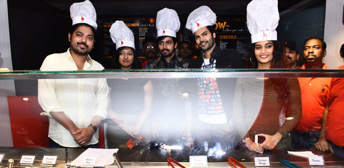 Big Boss stars Launched Naturals B Cafe