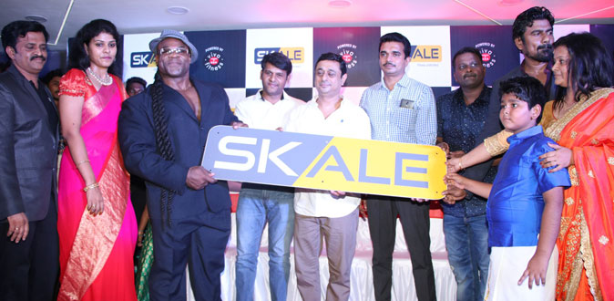 International Body Builder and Hollywood Actor Kai Greene in SKALE Gym Open