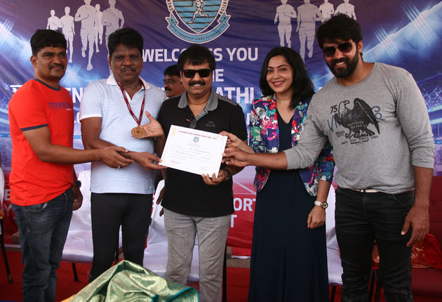 Kollywood Stars in CDMAA District Meet 2017