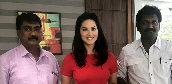 Sunny Leone now signed her first Tamil movie