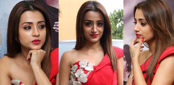 நடிகை திரிஷாவின் புதிய புகைப்படங்கள் - Actress Trisha Latest Photos