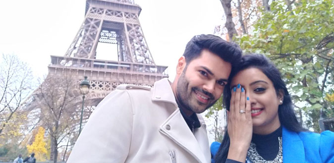 Ganesh Venkatrama and Nisha celebrate 2nd Anniversary in Paris