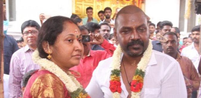 இணையத்தில் வைரலாகும் ராகவா லாரன்ஸ் மனைவி புகைப்படம்!