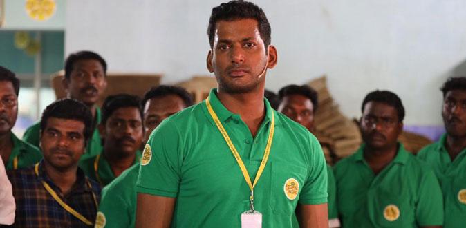 கஜா புயலால் பாதித்தவர்களுக்கு வித்தியாசமாக உதவிய நடிகர்  விஷால்