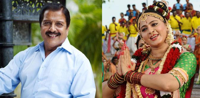 அனுஷ்காவை பார்த்து வியந்த சிவகுமார்!