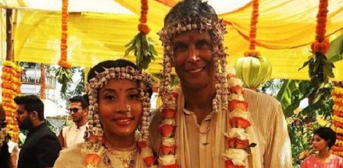 26 வயது பெண்ணை திருமணம் செய்துக்கொண்ட 52 வயது வில்லன் நடிகர்!