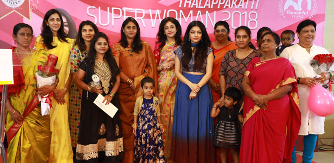 Janani Iyer in Thalappakatti Super Women 2018