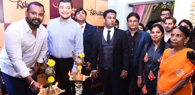 Actor Sam Paul inaugurates 'Robustaa Kitchen'