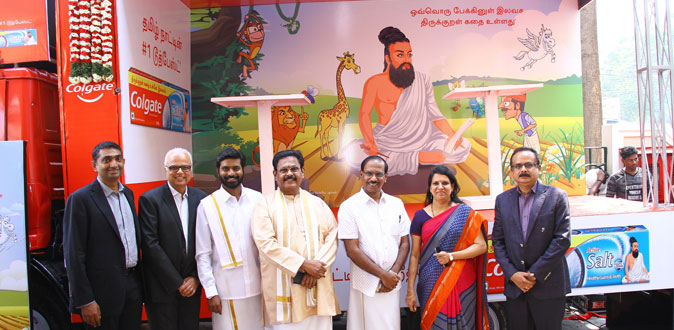 Colgate celebrates Tamil culture and pays tribute to Thiruvalluvar