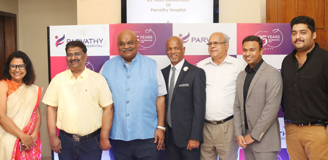 Parvathy Hospital celebrated its 25th Anniversary
