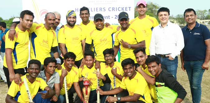 IHG Mahabalipuram won Chennai Premier Hotels Cricket Tournament