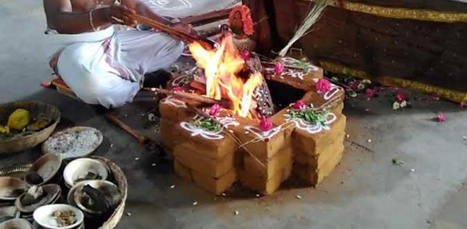 தன்வந்திரி பீடத்தில் பிரச்சனைகள் தீர்க்கும் பிரதோஷ ஹோமம்!