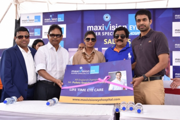 Maxivision felicitates Captain of Indian Women's National Cricket Team