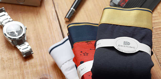 A global luxury brand of fine men's underwear on 15th August in Amazon.com