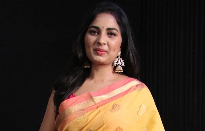 Actress Srushti Dange Stills