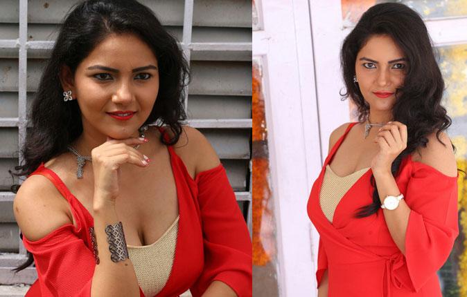 Actress Nandini Stills