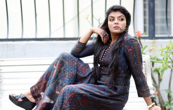 Actress Tejashree Jadhav Photo Shoot Stills