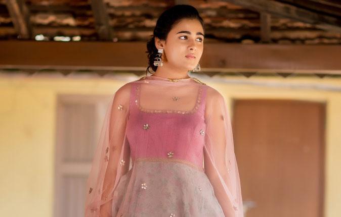 Actress Shalini Pandey