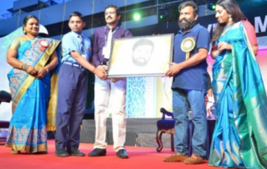 Santhosh Narayanan Inaugurated Velammal ECAYLP Academy Stills