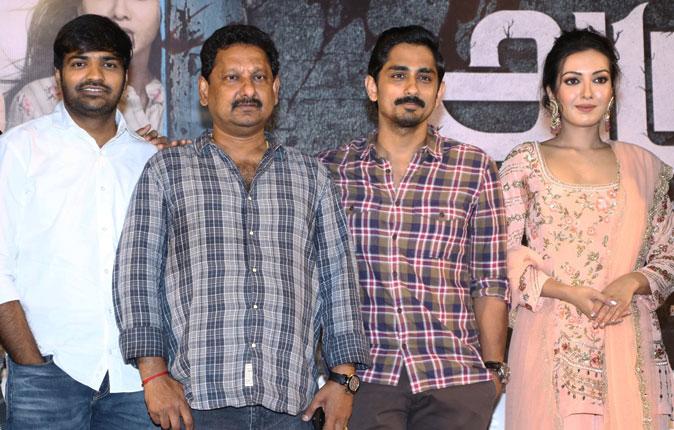 Aruvam Movie Press Meet Stills