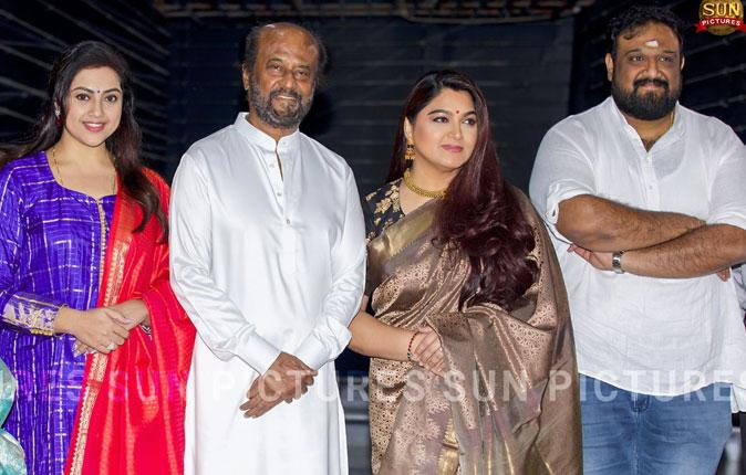 Rajinikanth in Thalaivar 168 Movie Pooja