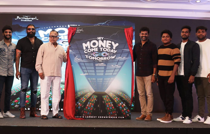 Hey Money Come Today Go Tomorrow Ya Movie Title Launch Stills