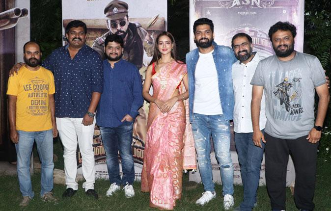Avane Srimannarayana Press Meet Stills